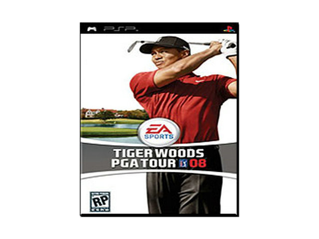 Tiger Woods PGA Tour 08 (PSP)