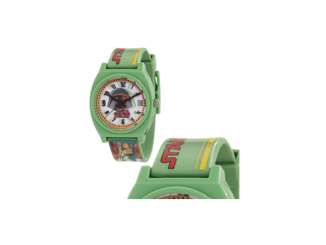 Star Wars Kids' Boba Fett Analog Watch