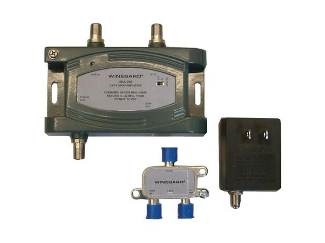 WINEGARD HDA-200 24 DB DIGITAL DISTRIBUTION AMPLIFIER