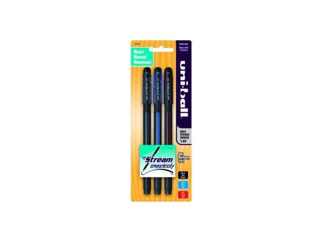 uni-ball Jetstream 101 Roller Ball Pen 3 Pk*6
