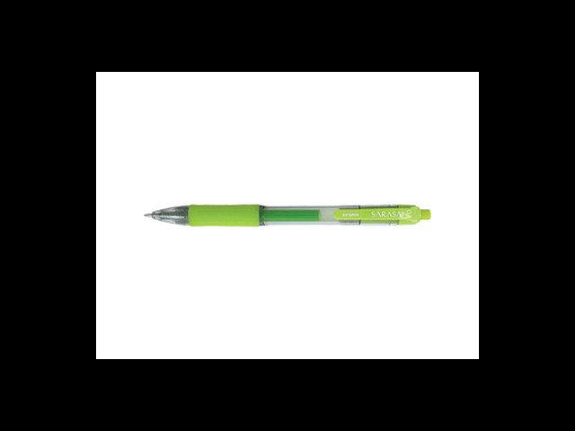 Zebra Pen Sarasa Gel Pen Medium Pen Point Type - 0.7 mm Pen Point Size - Light Green Ink - Translucent Barrel - 12 / Dozen