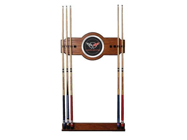 Corvette C5 2 piece Wood and Mirror Wall Cue Rack