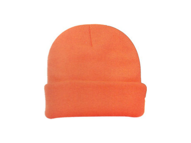 Outdoor Cap Company Watch Cap Heavy Weight Knit Blaze Orange