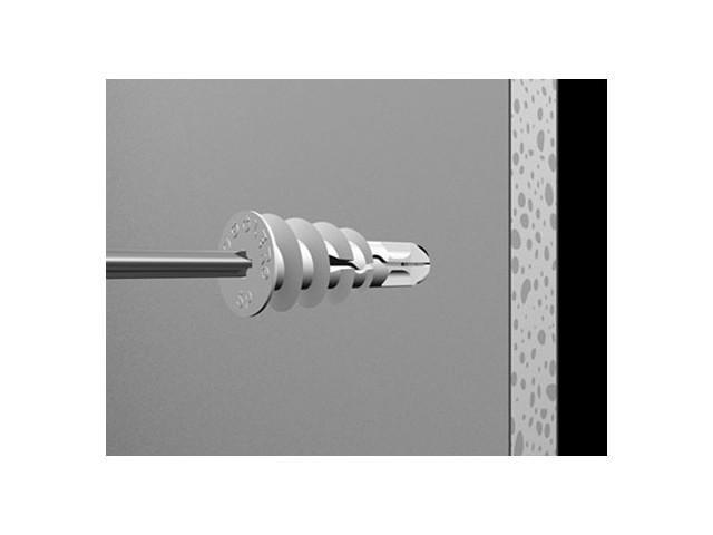 SnapSkru Regular (Type SP) Self-Drilling Drywall Anchors - 100pk