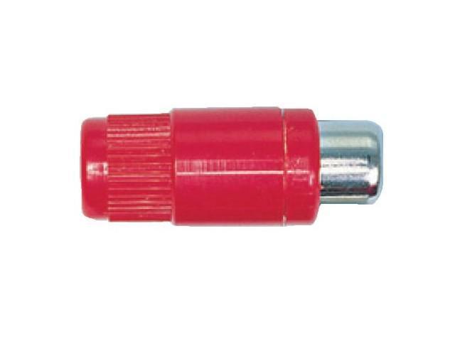 Red In-Line Socket