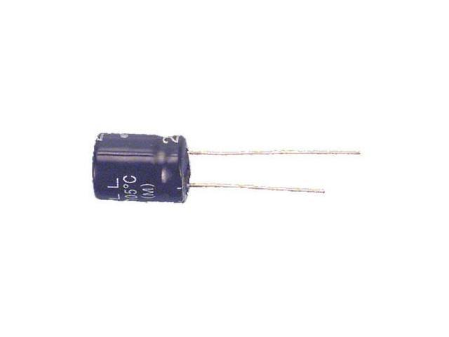 CAPACITOR 350V 22UF 105C HI TEMP,RADIAL 12.5D X 25L MM