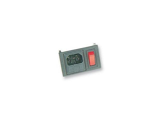 IEC Power Inlet with Switch