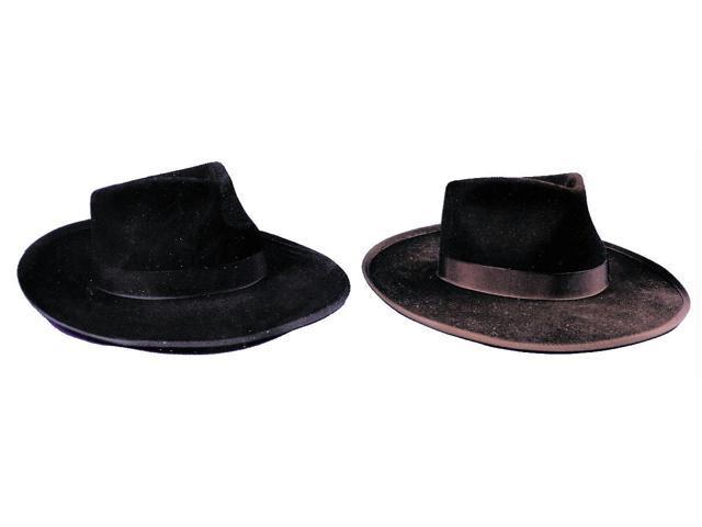 Gangster Hat Black Medium Accessory