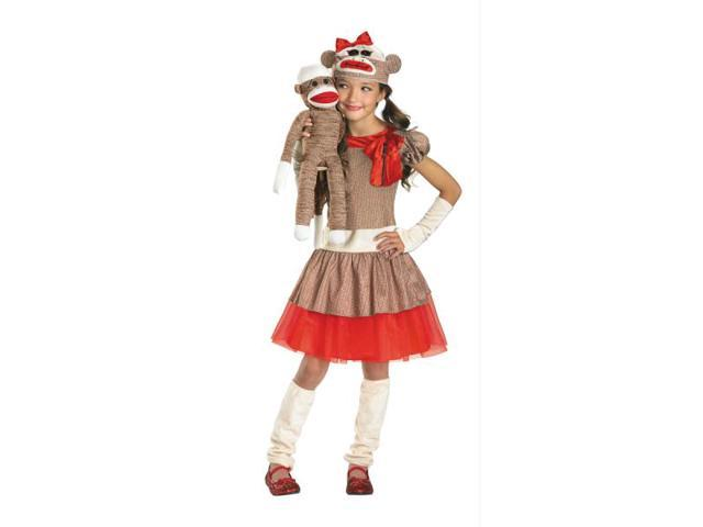 Sock Monkey Girl 7-8