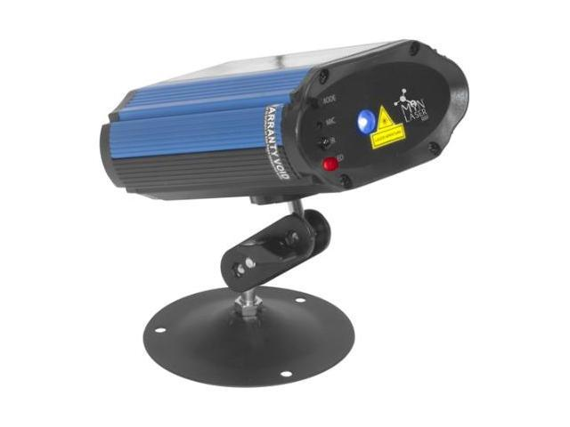 Red Blue Compact Plug-N-Play Laser