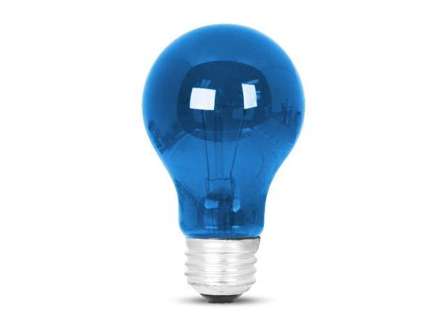 25W Standard A19 Colored Party Bulb - Blue