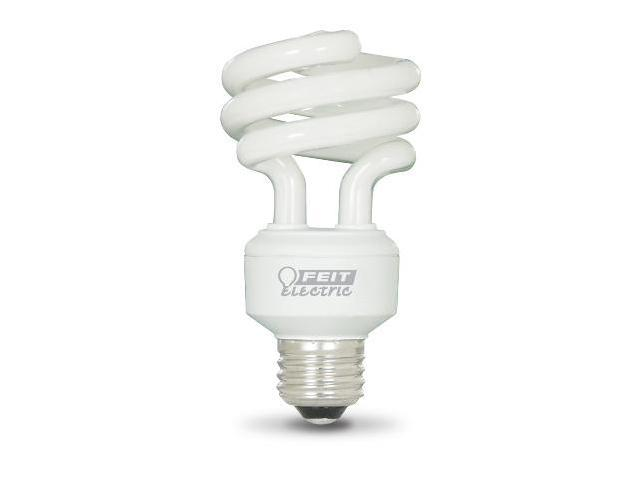 18W Compact Fluorescent Mini Twist Light Bulbs - Soft White