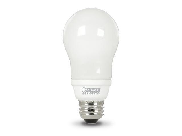 15W EcoBulb Plus A Shaped Compact Fluorescent Light Bulbs