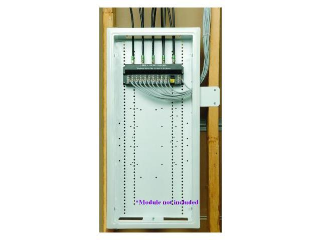 home command center structured wiring panel 12 quot x 44 quot newegg