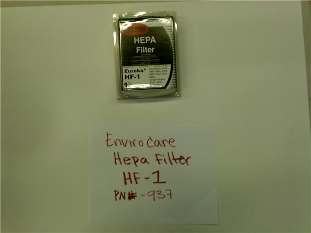 EUREKA HF-1 Filter Part # 60286C