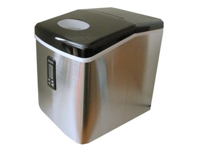 Versonel SPP15AIM Smart Portable Countertop Ice Maker Machine - Stainless Steel - 33lbs Per Day
