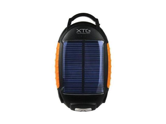 Solar Portable Battery Pack with Flashlight and Lantern - Ideal for Charging iPhone, iPod, MP3, Droid, Smartphones, and Other ...