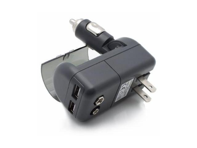 XTG Technology's All in One Dual USB Car and AC Wall Travel Charger - Numerous Options to Easily Charge Up 2 USB Devices ...