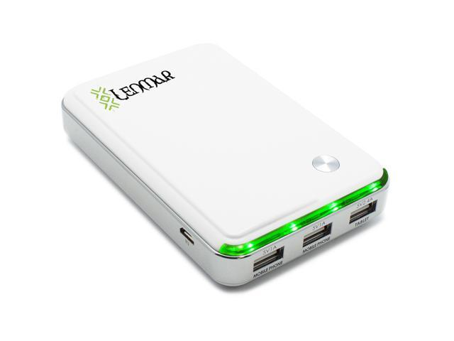 Lenmar Helix 11000mAh Portable External Power Bank for Up to 3 Devices