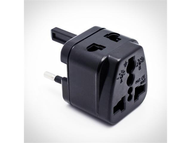 Ultra Compact Universal Travel Adapter - The World's Smallest All-in-one Travel Adapter Plug - Fits Over 150 Different Countries