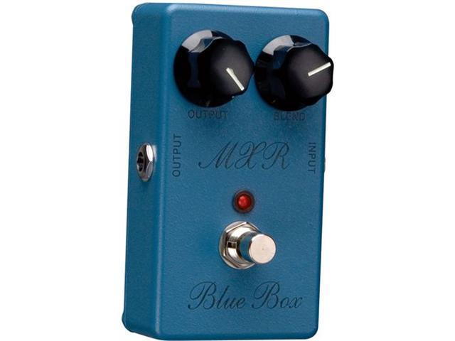MXR Blue Box Pedal Single Guitar Effect