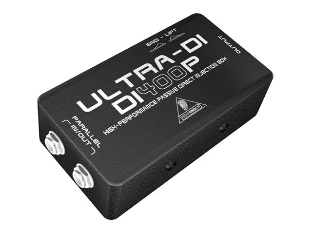 Behringer DI400P Passive Direct Box Direct Injection DI Box