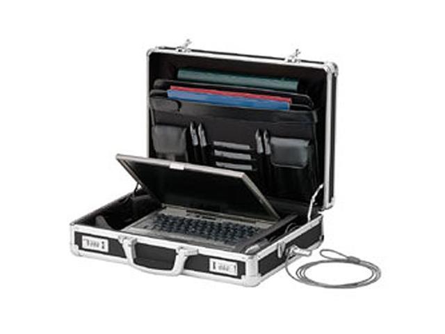 vaultz vz01216 locking dj laptop case black computer recording case bag. Black Bedroom Furniture Sets. Home Design Ideas