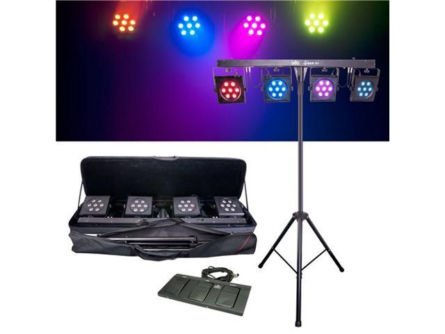 CHAUVET 4BARTRI 4BAR TRI - PORTABLE TRI-COLOR LED WASH WITH STAND