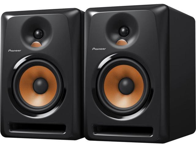 Pioneer BULIT6 6-Inch Powered Studio Monitors Pair