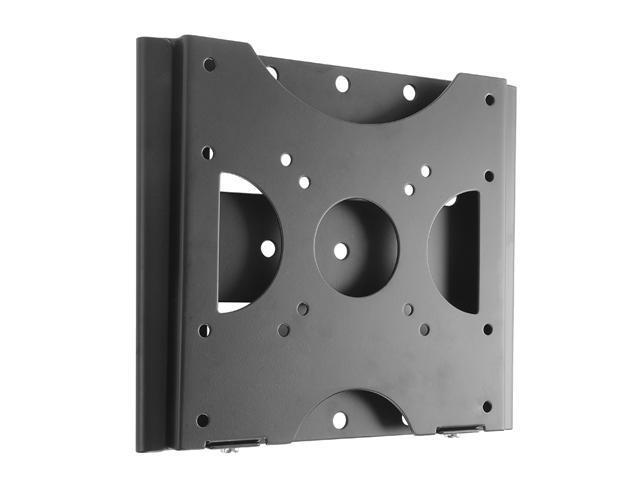 Loctek Black Slim Fixed Flat Panel TV Wall Mount Bracket for 10''-37'' LCD/LED TV