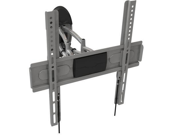 "Loctek WLB246 Silver 26""-42"" Slim Articulating Flat Panel TV Wall Mount Bracket"