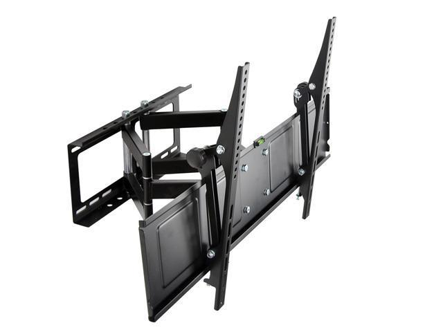 Loctek Black Full Motion Tilt Swivel Articulating Flat Panel TV Wall Mount Bracket for 42''-65'' LCD/LED/PDP TV