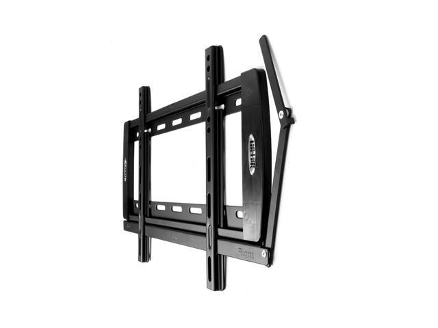 Loctek Black Super Slim Fixed Wall Mount Bracket Low Profile for 23''-37'' LCD/LED TVs up to 35kg