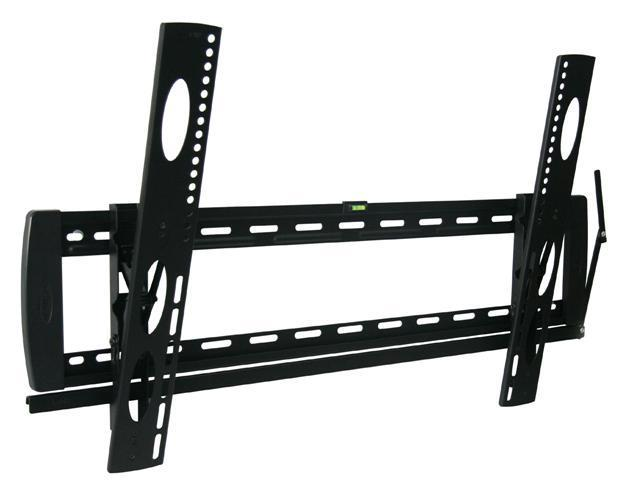 Loctek Black Ultra Slim Low Profile Tilt LCD LED TV Mount Bracket for 36''-60'' TVs Sharp LG +