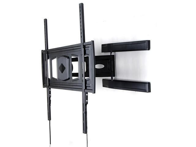 Homemounts HM107A New Black Low Profile Articulating LED TV Wall Mount Bracket for LED TV 37''-60''