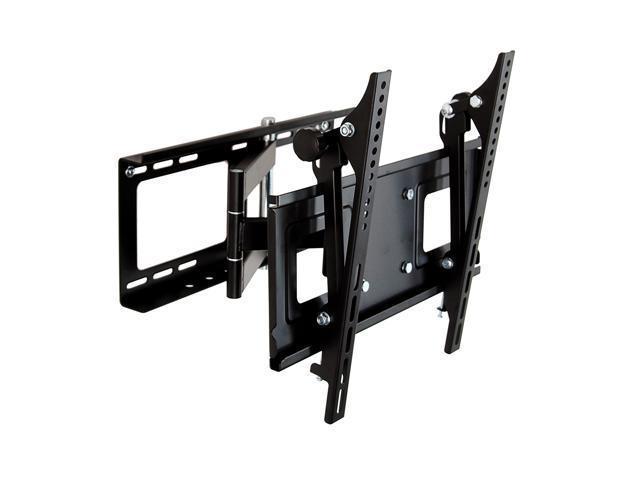 Homemounts HM004A Low Profile Steel Articulating Wall Mount Bracket for 23''-42'' TV - Black
