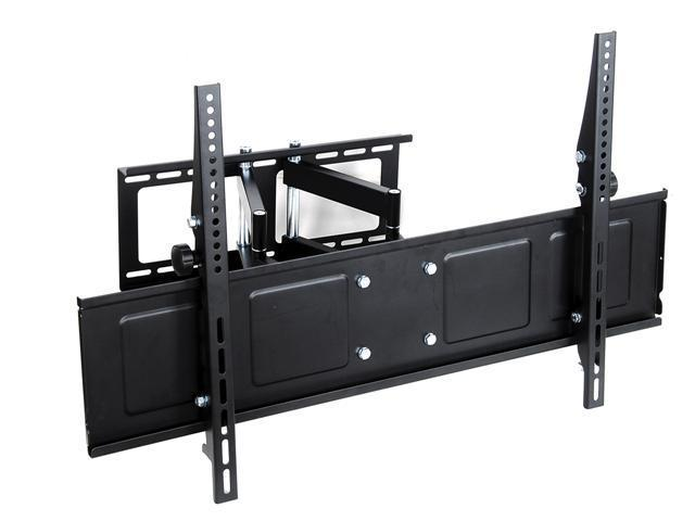 Homemounts HM006A Low Profile Steel Articulating LCD LED Wall Mount Bracket for 42''-65'' TV - Black