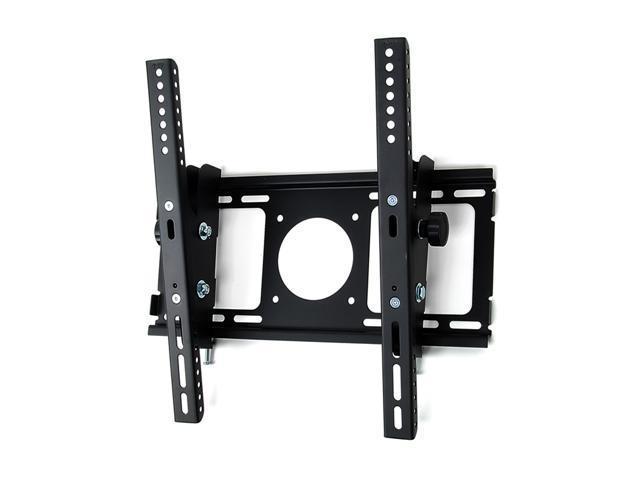 HomeMounts HM001T LED LCD Flat Panel Wall Mount Bracket with Tilt for 23''- 47'' TV- Black