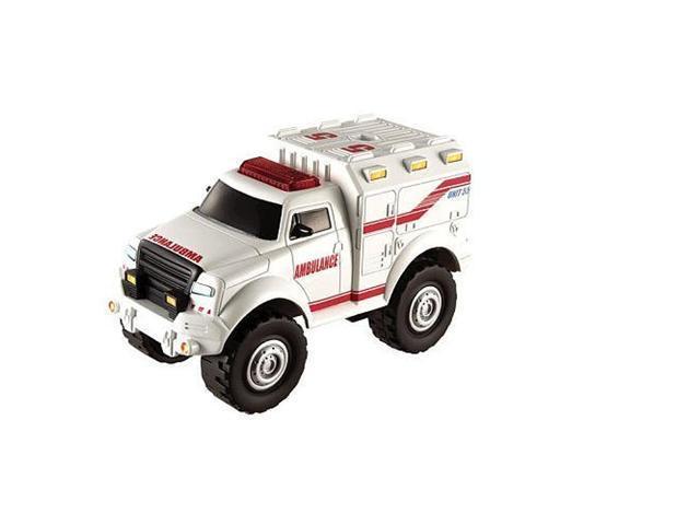 Matchbox City Ambulance with Mega-Pullback Power
