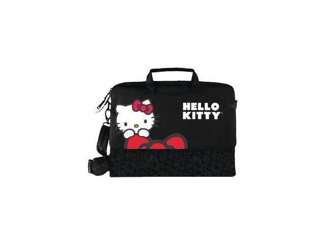 Hello Kitty Kt4335B Hello Kitty Notebook Bag (Black)