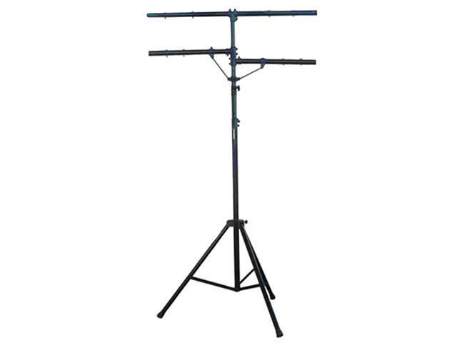 Pyle-Pro PPLS203 DJ Lighting Tripod Stand w/T-bar/Dual Side Bar