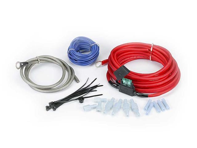 Rockford Fosgate RFK10 10-gauge amplifier power wiring kit
