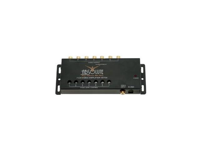 Absolute VD707 Video Signal Amplifier, One Input to Seven Outputs