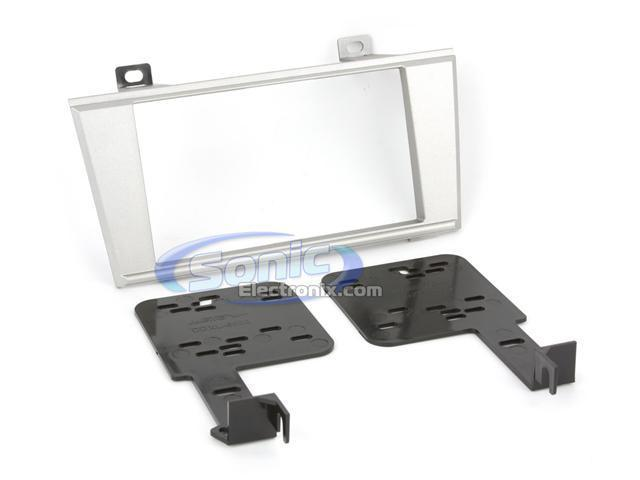 Metra 95-5000S (Silver) Double DIN Installation Dash Kit for 2000-2006 Lincoln LS or 2002-2005 Ford T-Bird