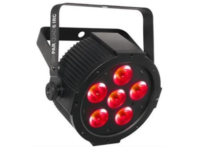 Chauvet SlimPAR Quad 6 IRC DMX RGBA Wash Light Slim PAR SlimPARQuad SlimPARQuad6