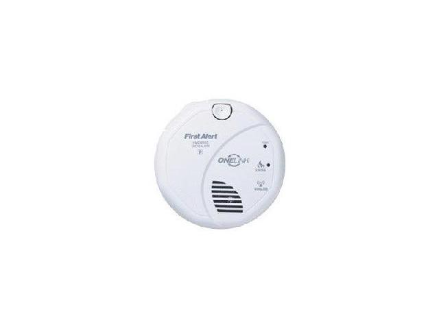 brk sa520b onelink wireless 120v ac dc smoke detector. Black Bedroom Furniture Sets. Home Design Ideas