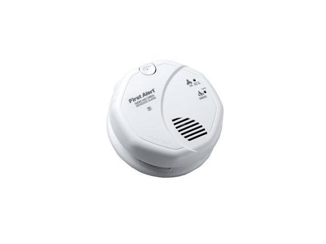 BRK ELECTRONICS 3120B 120V AC Photo/Ion Smoke Alarm w/Battery backup