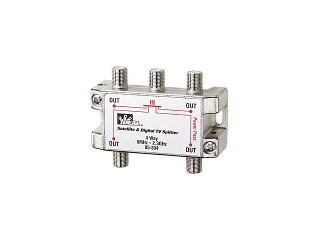 Ideal 85-334 2 GHz Splitter, 4-Way