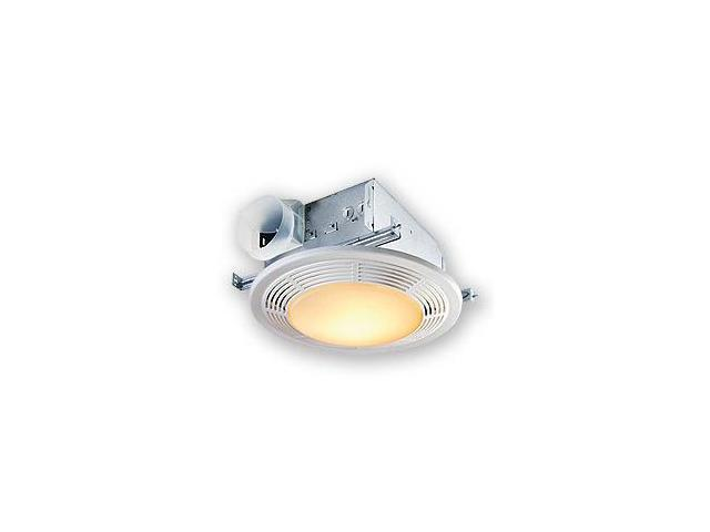 Nutone 8663RP Bath/Ventilation Decorative Fan-Light
