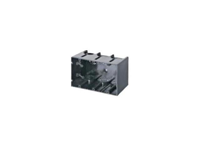 Arlington F103 3 Gang One Box™ Non-Metallic Outlet Box
